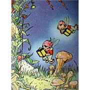 Johnny Gruelle Book Little Sunny Stories - RARE Childrens Book