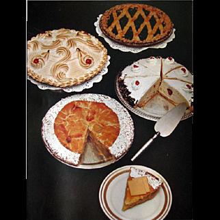 The Plaza Cookbook - Vintage Cook Book - Vintage Recipe Book