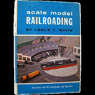 Model Railroad Book Scale Model Railroading - HO Trains - Miniature Trains