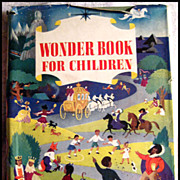 The Wonder Book For Children -- Vintage Children's Book