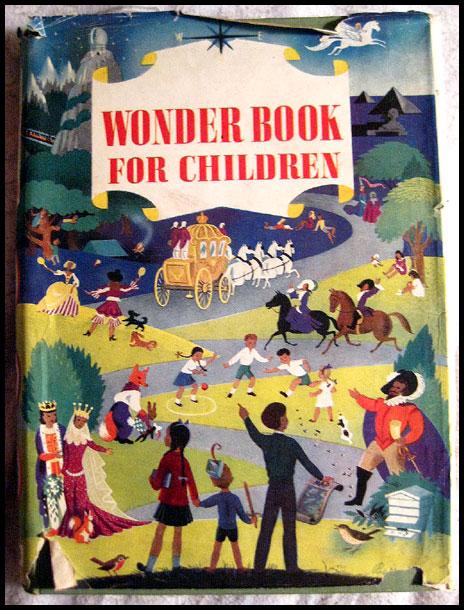 The Wonder Book For Children -- Vintage Children's Book