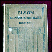 Elson Grammar School Reader Book One -- Early Scott, Foresman Reader