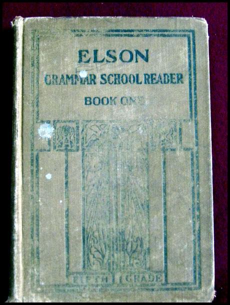 Elson Grammar School Reader Book One -- Early Scott, Foresman Reader