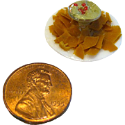 Chips and Salsa Miniature Food - Dollhouse Accessories - Dollhouse Miniatures