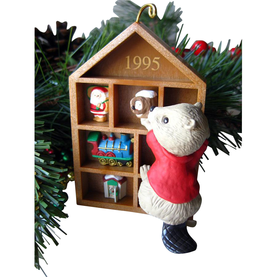 Collecting Memories 1995 Collectors Club Hallmark Keepsake Ornament / Christmas Ornament