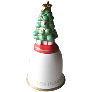 O Christmas Tree Hand Painted Hallmark Ornament 1992 / Christmas Ornament / Collectible Ornament / Holiday Decor