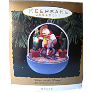 Home On The Range Musical Motion Lighted Hallmark Keepsake Ornament / Christmas Ornament / Miniature Ornament / Southern Christmas