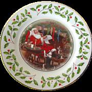 Lenox Cookies For Santa 1998 Holiday Plate - Vintage Holiday Decor - Lenox China Christmas Plate - Lenox Annual Holiday Plate