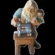 Hallmark The Toymaker Stitched With Love Christmas Figure - Holiday Porcelain Figurine - Holiday Decor - Limited Edition Hallmark Figurine