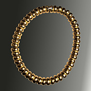Brushed Gold-Toned Necklace