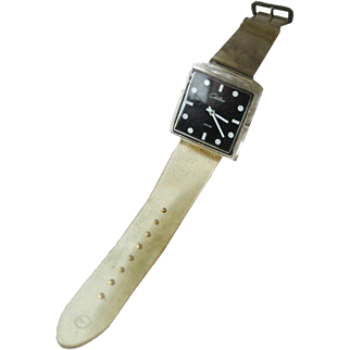 Chateau Lucite Watch In Working Condition - Mid Century Mechanical Watch - Skeleton Watch - Wind Up Watch
