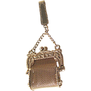 Miniature Mesh Purse with Fold Over Clip - Miniature Handbag