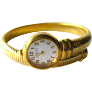 Coil Wrap Watch by Joan Rivers - Joan Rivers Signed Jewellery - Costume Jewellery