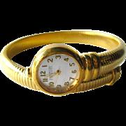Coil Wrap Watch by Joan Rivers - Joan Rivers Signed Jewellery - Costume Jewellery