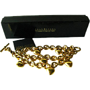 Joan Rivers Puff Heart Chunky Bracelet - Costume Jewellery - Joan Rivers Classic Collection