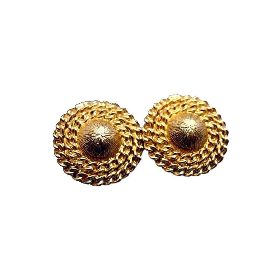 Gold-Toned Coro Earrings