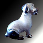 Puppy Dog Pin -- Italian Sterling