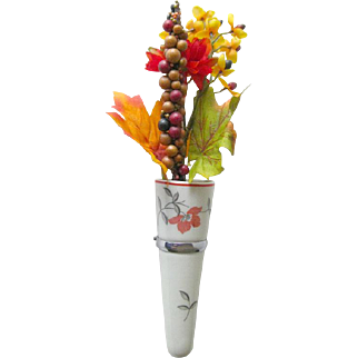 Vintage Car Vase by Rosenthal - Ceramic Car Vase - Vintage Automobile - Auto Bud Vase