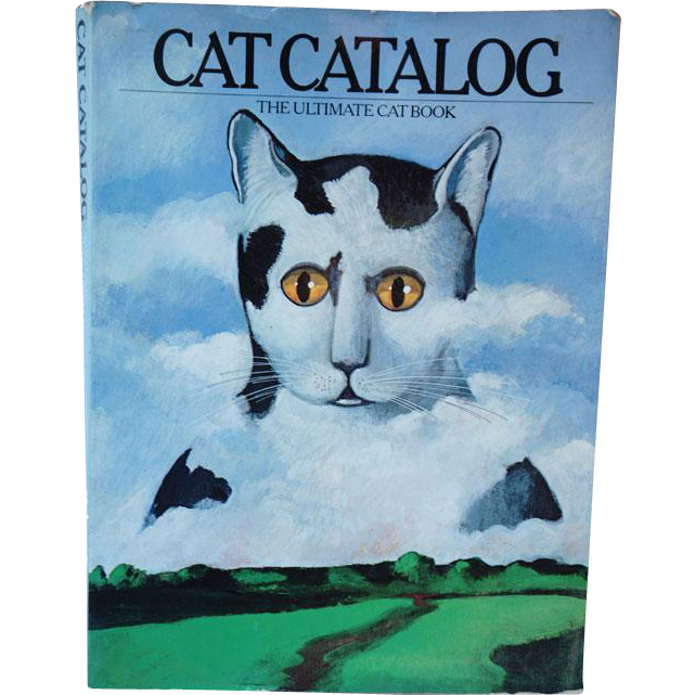 Edward Gorey Illustrations in Cat Catalog The Ultimate Cat Book by Judy Fireman / Ailurophile / Collectible Book