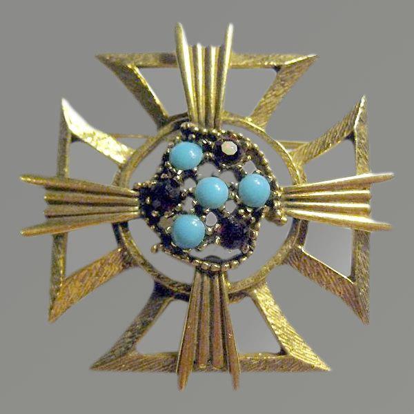 KRAMER Maltese Cross Pin