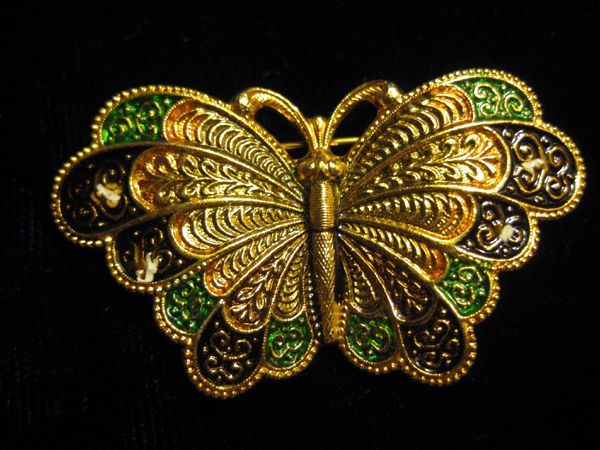 Butterfly Pin - Signed SPAIN