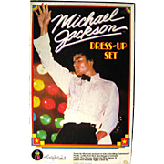 Michael Jackson Colorforms Set / Michael Jackson Dress Up Set / Vintage Colorforms / 1980s Pop Icon / 1980s Music / Jackson Five