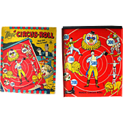 Magic Circus Metal Tin Magnetic Game Kids Toy in Original Box / Litho Circus Graphics / Great Family Night Game / Vintage Board Game