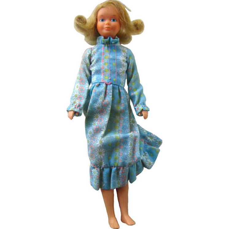 Quick Curl Skipper Doll No 4223 1975 Vintage Barbie Doll