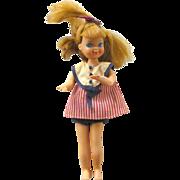 Mattel Tutti Doll From Tutti and Todd Sundae Treat Set No 3556 - Vintage Barbie Doll - Barbie Friend Doll