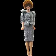 Bubblecut Barbie With Titian Hair 1962 by Mattel - Vintage Barbie Doll - Bubble Cut Barbie - Career Girl Outfit 954