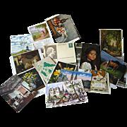 Post Card Destash Lot / Art Post Cards / Vintage Postcards / Vintage Ephemera / Scrapbooking Postcards