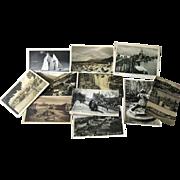 Photographic Postcards Destash Lot 11 Post Cards / Vintage Postcards / Vintage Ephemera / Photo Postcards / Scenic Post Cards