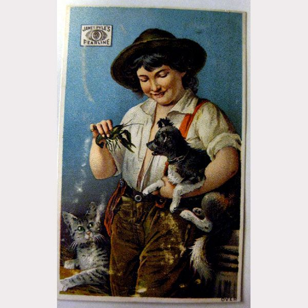 James Pyle's Pearline Vintage Trade Card