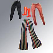 Vintage Barbie Set Pantyhose Pants and Boots