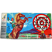 Annie Oakley Vintage Game By Milton Bradley Complete / Vintage Board Game / Western Board Game / Vintage Television Show / 1950s Game
