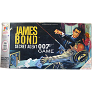 James Bond Secret Agent 007 Board Game by Milton Bradley / Vintage Spy Game / 1960s Board Game