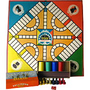 Pollyanna Dixie Game Complete with Playing Pieces and Board - Parker Brothers Game - Vintage Board Game - 1950s Board Game