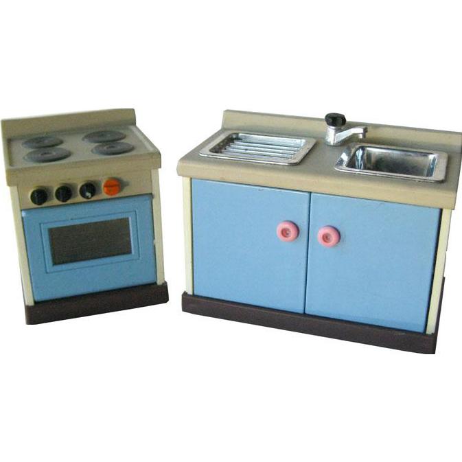 Kitchen Set Ukuran 1 Meter: Miniature Dollhouse Sink Set By M C Toys