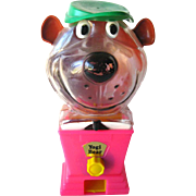 Yogi Bear Bubble Gum Bank by Tarco Toy - Hanna Barbera Gumball Bank - Collectible Toy - Retro Toy - 1960s Toy - Mechanical Bank