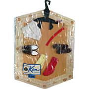 Ken Doll Fashion Pak Accessories NRFP - MIP Ken Clothes - Barbie Doll - Doll Clothes - Vintage Barbie Doll - Vintage Ken Doll Shoes