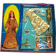 Dawn Glimmer Glamour Set Number 0713 NRFP - MIP Dawn Doll Clothes - Vintage Dawn Doll - 1960s Doll Clothes
