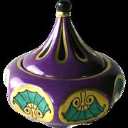 Schumann Art Nouveau Dresser Box Limited Edition - Hand Painted Porcelain - Vintage Vanity Box - Schumann Porcelain - Rare Porcelain Box