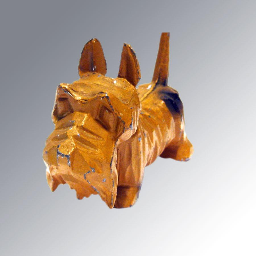 Scottish Terrier Cast Metal Figurine