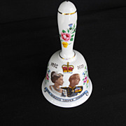 Commemorative Royal Silver Jubilee Bell