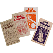 Vintage Boys Periodicals: The Knicker             Circa: 1929