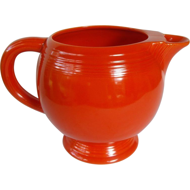Vintage Fiesta-ware Ice Lip Pitcher