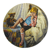Collector Plate: Mother Goose: Diddle Diddle Dumpling