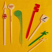 Vintage Swizzle-sticks: Airlines