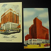 Palmer House and Hotel Sherman: Chicago C 1950s