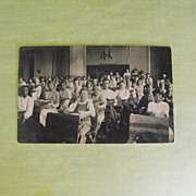 Postcard: Photo: School Classroom with Children